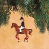 Item # 177255 - Little Girl Rider Christmas Ornament