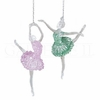 Item # 177262 - Acrylic Ballerina Christmas Ornament