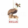 Item # 177277 - Relax Pelican Christmas Ornament