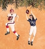 Item # 177311 - Football Player Christmas Ornament