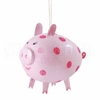 Item # 177350 - Pink Pig Ornament