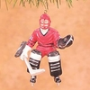 Item # 177374 - Goalie Hockey Player Christmas Ornament