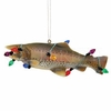 Item # 177399 - Holiday Trout Fish Christmas Ornament