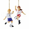 Item # 177431 - Young Soccer Player Christmas Ornament
