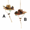 Item # 177751 - Holiday Cowboy Hat Christmas Ornament
