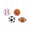 Item # 177795 - Baseball/Basketball/Soccer Ball/Football Cookie Ornament