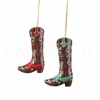Item # 177806 - Cowgirl Boot Christmas Ornament