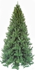 Item # 183019 - 7.5 Foot Narrow Rocky Mountain Pine Artificial Christmas Tree With 650 Clear Lights