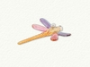 Item # 186331 - Multicolor Dragonfly Ornament