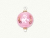 Item # 186875 - Breast Cancer Awareness Ball Ornament