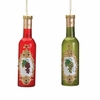 Item # 188032 - Wine Bottle Christmas Ornament
