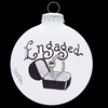 Item # 202041 - Ring Engaged Ornament