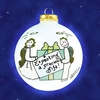 Item # 202066 - Expecting Gift Ball Ornament