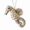Item # 203008 - Frosted Seahorse Christmas Ornament