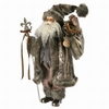 Item # 203028 - Charcoal Santa With Gift Bag & Staff