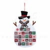 Item # 231134 - Plaid Snowman Calendar