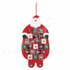 Item # 231138 - Plaid Santa Calendar