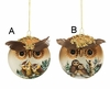 Item # 245043 - Owl Ball Ornament