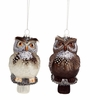 Item # 245044 - White/Brown Owl Ornament