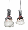 Item # 245047 - Melted Snowman Christmas Ornament