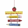 Item # 260044 - Teachers Rule Christmas Ornament