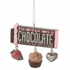 Item # 260051 - Chocolate Bar Christmas Ornament