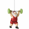 Item # 260101 - Weightlifting Santa Ornament