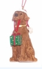 Item # 260108 - Resin Lab With Gift Christmas Ornament