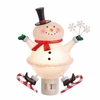 Item # 260132 - Snowman Beaded Night Light