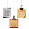 Item # 260182 - Office Memo Ornament