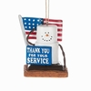Item # 260202 - S'mores Military Ornament