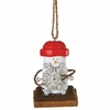 Item # 260204 - S'mores With Silver Snowflake Christmas Ornament