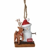 Item # 260212 - 2014 S'mores With Reindeer Christmas Ornament
