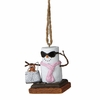 Item # 260222 - S'mores Diva Christmas Ornament