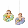 Item # 260300 - Child In Inner Tube Christmas Ornament