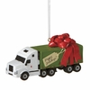 Item # 260312 - Semi Truck Christmas Ornament
