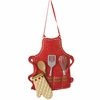 Item # 260355 - Cook's Apron Christmas Ornament