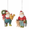 Item # 260371 - Santa Farmer Christmas Ornament