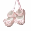 Item # 260388 - Porcelain Baby Girl Shoes Christmas Ornament