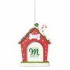 Item # 260399 - Christmas Dog House Photo Frame Christmas Ornament