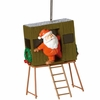 Item # 260418 - Santa In Deer Stand Christmas Ornament