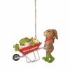 Item # 260449 - Rabbit Gardener Christmas Ornament