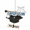 Item # 260494 - Graduate Christmas Ornament