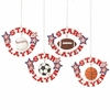 Item # 260499 - Star Player Christmas Ornament