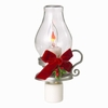 Item # 260519 - Acrylic Flickering Lantern With Holly Nightlight