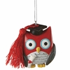 Item # 260599 - Graduation Owl Christmas Ornament