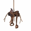 Item # 260751 - Leather Saddle Ornament