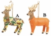 Item # 260793 - Resin Deer In Hunting Outfit Christmas Ornament