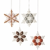 Item # 260841 - Sports Snowflake Christmas Ornament