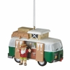 Item # 260844 - Santa With Camping Van Christmas Ornament